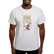 Tom Clarke - Ash Grey T-Shirt