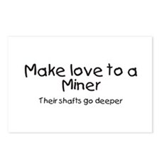 miner Postcards (Package of 8)