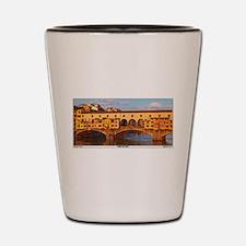 Ponte Vecchio Shot Glass