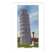 The Leaning Tower Postcards (Package of 8)