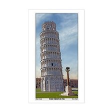 The Leaning Tower Decal