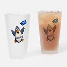 Scotland Penguin Pint Glass
