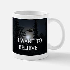 I Want to Believe Mug