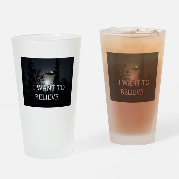 I Want to Believe Pint Glass