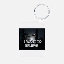 I Want to Believe Keychains