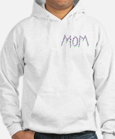 MOM - Purple Flowers Hoodie