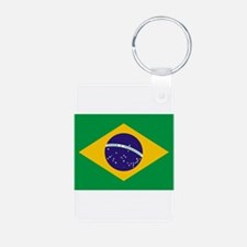 Brazilian National Flag Keychains