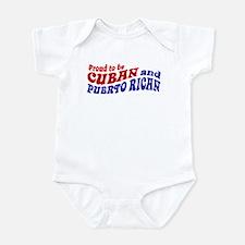 Cuban and Puerto Rican Infant Bodysuit