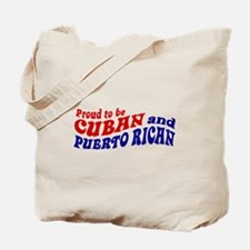 Cuban and Puerto Rican Tote Bag