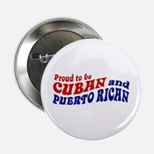 """Cuban and Puerto Rican 2.25"""" Button"""