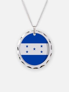 Cool Honduran flag designs Necklace