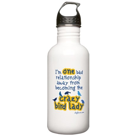 Crazy Bird Stainless Water Bottle 1.0L