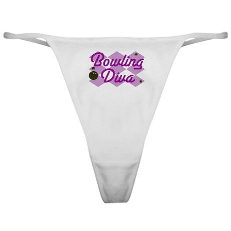 Bowling Diva Classic Thong