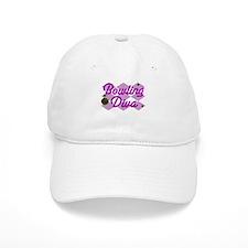 Bowling Diva Baseball Cap
