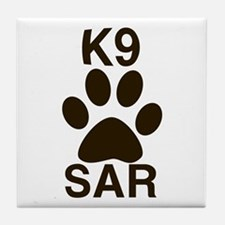 K9 SAR Tile Coaster