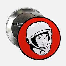 "Yuri Gagarin Icon 2.25"" Button (10 pack)"