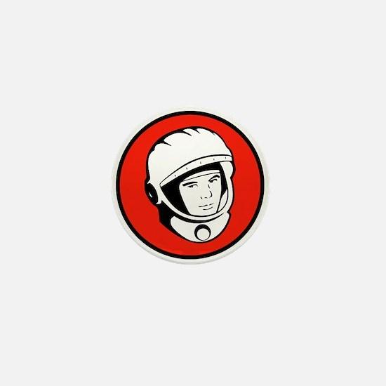 Yuri Gagarin Icon Mini Button