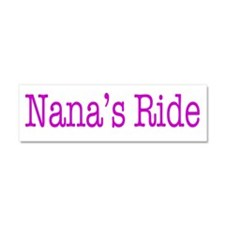Nana's Ride Car Magnet 10 x 3