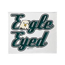 Eagle Eyed Throw Blanket
