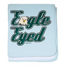 Eagle Eyed baby blanket