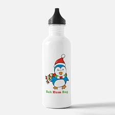 Bah Hum Bug Penguin Water Bottle