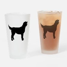 Labradoodle Pint Glass