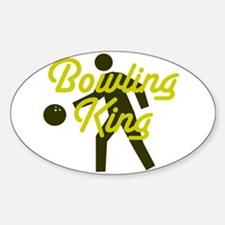 Bowling king Decal