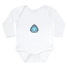 BLUE PRANA YOGA Long Sleeve Infant Bodysuit