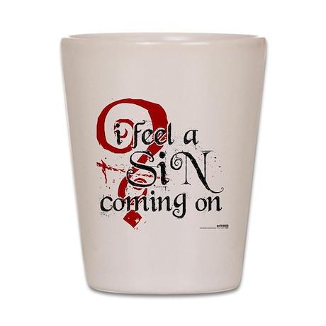 Sin Shot Glass