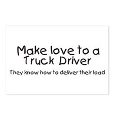 truck driver Postcards (Package of 8)
