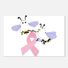 The Boobees Celebrate Breast Postcards (Package of