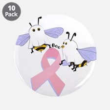 "The Boobees Celebrate Breast 3.5"" Button (10"