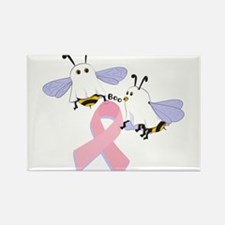 The Boobees Celebrate Breast Rectangle Magnet (10