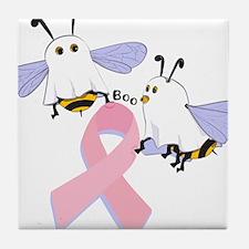 The Boobees Celebrate Breast Tile Coaster