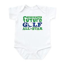Future All Star Golf Boy Infant Bodysuit