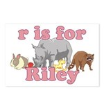 R is for Riley Postcards (Package of 8)