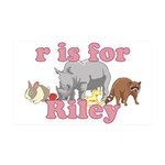 R is for Riley 38.5 x 24.5 Wall Peel