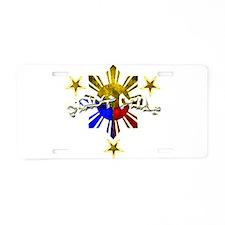 Funny Filipino Aluminum License Plate