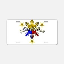 Unique Filipinos Aluminum License Plate