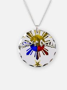 Cute Filipino Necklace Circle Charm