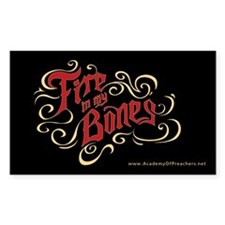 Fire in my Bones (Sticker)