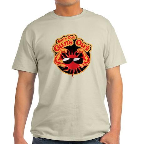 Sun's Out Guns Out -- Light T-Shirt