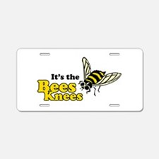 It's the Bees Knees Aluminum License Plate