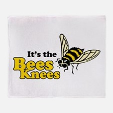 It's the Bees Knees Throw Blanket