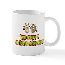 Two beavers are better than o Mug