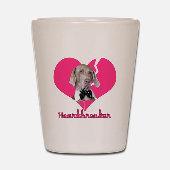 Heartbreaker Shot Glass