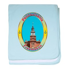 PA Freemasons baby blanket