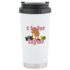 T is for Taylor Travel Mug