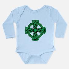 Celtic Cross Long Sleeve Infant Bodysuit