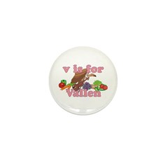 V is for Vallen Mini Button (100 pack)
